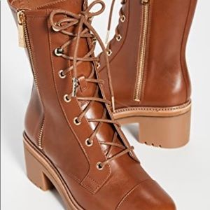 "MICHAEL Michael Kors ""Anaka"" Lug Sole Boots"